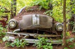 Paraurti sciolto su vecchio Pontiac Fotografie Stock Libere da Diritti
