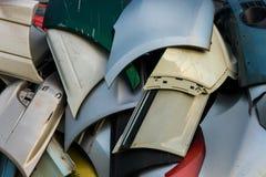 Paraurti utilizzati Fotografie Stock Libere da Diritti