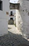 Parauta,白色村庄特点安达卢西亚 免版税库存照片