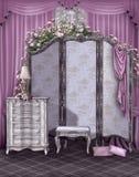 parawanowy pokoju rocznik Zdjęcie Stock