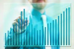 Parawanowy wykres Zdjęcie Stock