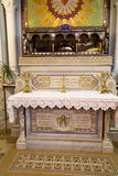 Paray-Le-Monial, Франция - 13-ое сентября 2016, реликвии rhe St Стоковое Фото