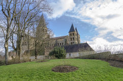Paray-Le-Monial, basilica of sacred heart france,  Royalty Free Stock Images