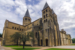 Paray Le Monial church Stock Photography