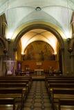 Paray Le Monial, France - 13 septembre 2016 : À l'intérieur de la chapelle Photos libres de droits