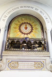 Paray-le-Monial, France - 13 septembre 2016, les reliques du St images stock