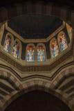 Paray Le Monial, Frankrijk - September 13, 2016: Heiligdom van St C Royalty-vrije Stock Fotografie
