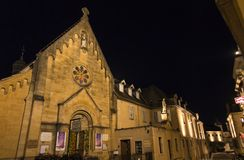 Paray Le Monial, Frankrijk - September 13, 2016: Kapel van reve Royalty-vrije Stock Fotografie