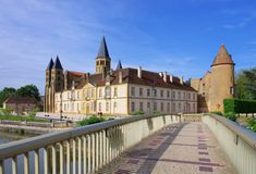 Paray-le-Monial Sacre-Coeur Stock Photography