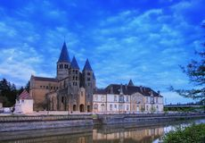 Paray-le-Monial Sacre-Coeur Stock Image