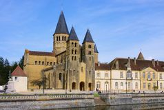 Paray-le-Monial Sacre-Coeur Stock Images