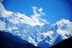 Parbat dell'uccisore e vigoroso della montagna di Nanga Fotografia Stock