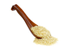 Parboiled long grain rice Royalty Free Stock Photography