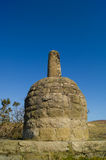 Parbold beacon. The old stone beacon (also known locally as 'the bottle') overlooking the village of Parbold and surrounding countryside. Constructed in 1832 Stock Photography