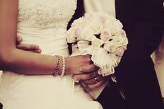 parbröllop arkivfoto