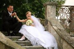 parbröllop Royaltyfri Foto