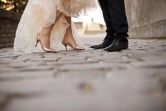 parbröllop Arkivbilder