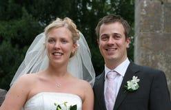 parbröllop Arkivbild