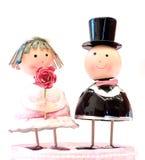 Parbröllopdocka Royaltyfria Foton