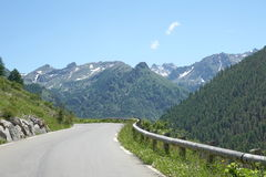 Parc全国du Mercantour,法国 库存图片