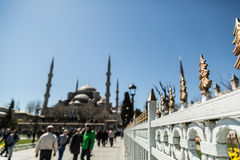Parc à Istanbul Photographie stock