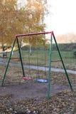 Parc à l'arrière-plan d'automne photo libre de droits