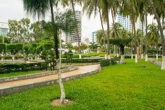 Parc à la station de vacances de Nha Trang, Vietnam Photo libre de droits