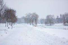 Parc à Minsk Photo stock