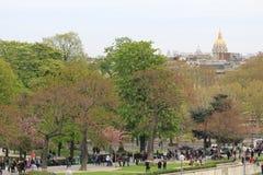 Parc à Paris Photographie stock