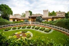 Parc à thème de Gardaland en Castelnuovo Del Garda, Italie Images stock