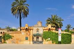 parc дворца laberint horta d del desvalls стоковые фото