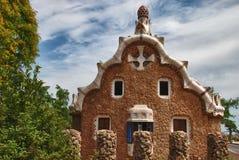 parc Испания g ell barcelona Стоковое Изображение