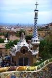 parc Испания g ell barcelona Стоковые Изображения