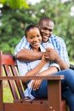 Parc africain de couples Photographie stock