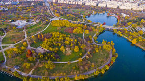 Parc Alexandru Ioan Cuza, Bucarest Photo stock