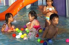 Parc aquatique Photo libre de droits