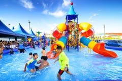 Parc aquatique de Robinson Image libre de droits