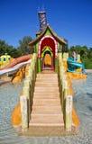 Parc aquatique de station de vacances Image stock