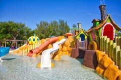 Parc aquatique de station de vacances Photographie stock libre de droits