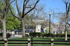 Parc au cercle de Dupont Image libre de droits