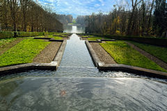 Parc av Sceaux, Paris, Frankrike Arkivbild