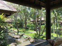 Parc Bali de jardin Image libre de droits
