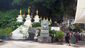 Parc bouddhiste thaïlandais Images stock