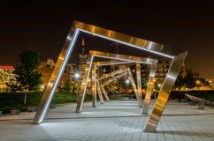 parc Chicago IL Etats-Unis de batelme de Mary Photos libres de droits