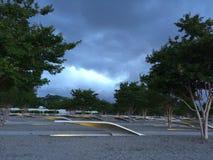 Parc commémoratif du Pentagone 9/11 photographie stock