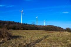 Parc d'énergie éolienne images libres de droits