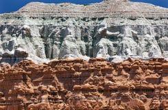 Parc d'état bleu de vallée de lutin de porte-malheur de montagne Utah Photos libres de droits