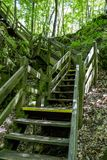 Parc d'état commémoratif de pont de roche images libres de droits
