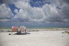 Parc d'état d'île de lune de miel - Dunedin, la Floride images libres de droits