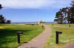 Parc d'état d'acres de rivage, Charleston Oregon Image libre de droits